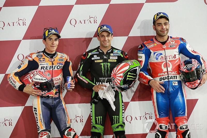 La parrilla de inicio del GP de Qatar MotoGP