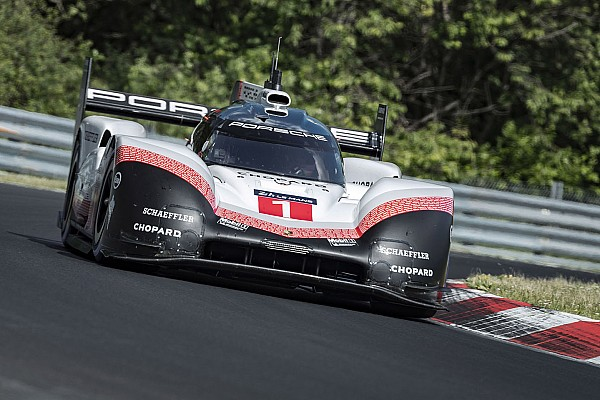 WEC Breaking news Porsche obliterates Nordschleife record with 919 Evo