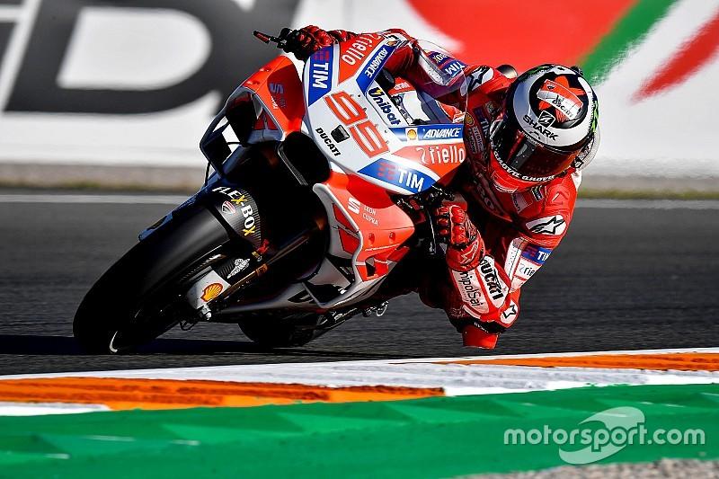 MotoGP-Finale Valencia: Lorenzo mit Freitagsbestzeit, Marquez stürzt