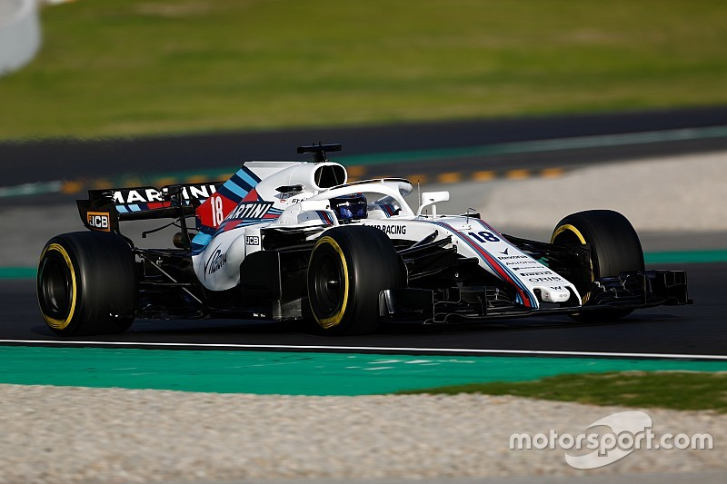"""Williams """"has to be concerned"""" about rivals' form - Stroll"""