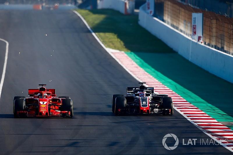 """Grosjean : """"C'est la meilleure Haas que j'aie pilotée"""""""