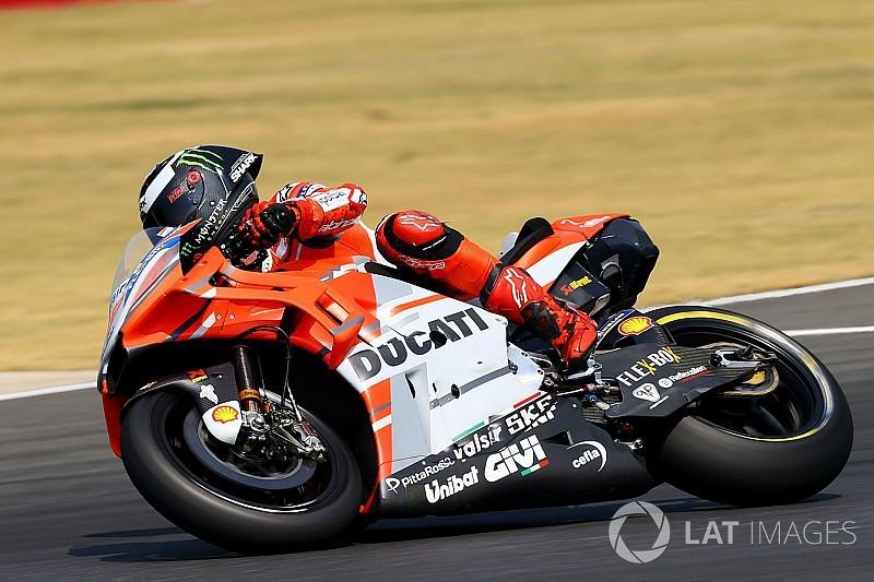 """Lorenzo """"toujours pas à l'aise"""" avec la Ducati GP18"""
