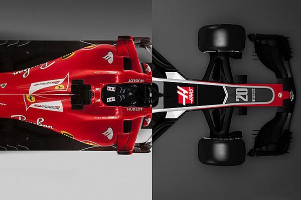 Formel 1 Analyse Vergleich: Wie viel Ferrari SF70H steckt im neuen Haas VF-18?