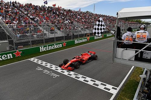 FIA explains Canadian GP chequered flag incident