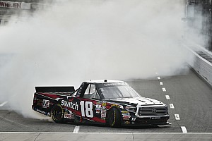NASCAR Truck Breaking news Noah Gragson claims his first NASCAR Truck win at Martinsville