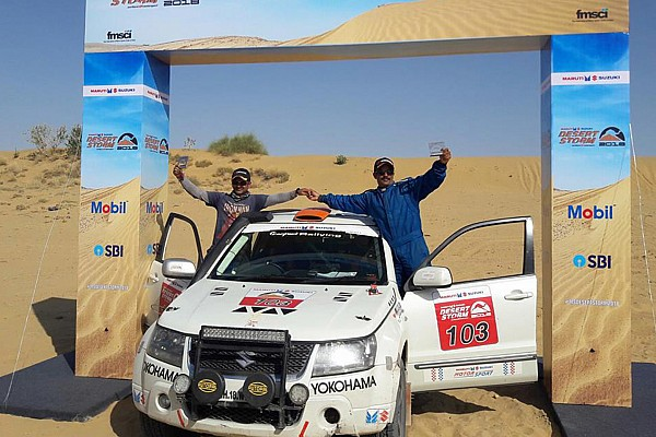 Indian Rally Stage report Desert Storm: Mishra and Mare declared Xtreme and Moto winners