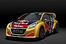 World Rallycross Peugeot presenta modelo WRX 2018 y retiene a hermanos Hansen