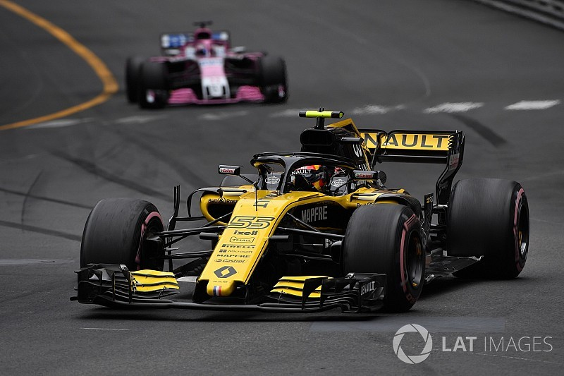 Renault defende estratégia de Sainz em Mônaco