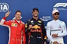 Formule 1 De startgrid voor de Grand Prix van Monaco