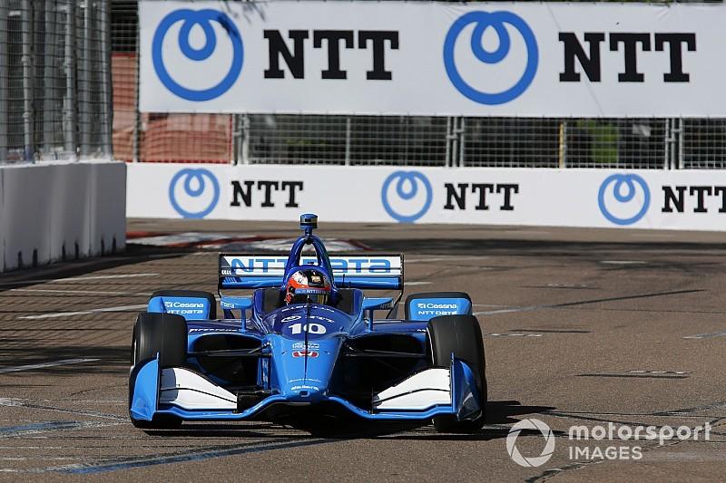 Rosenqvist logra un sensacional debut en IndyCar con un