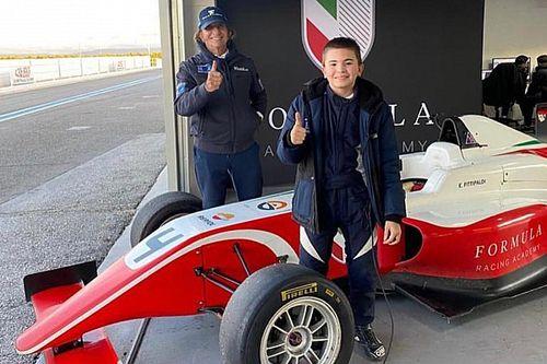 Emmo Fittipaldi Jr. llega a la F4 Danesa con 14 años