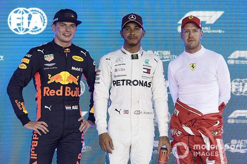 Horner cree que Hamilton y Vettel temen a Verstappen