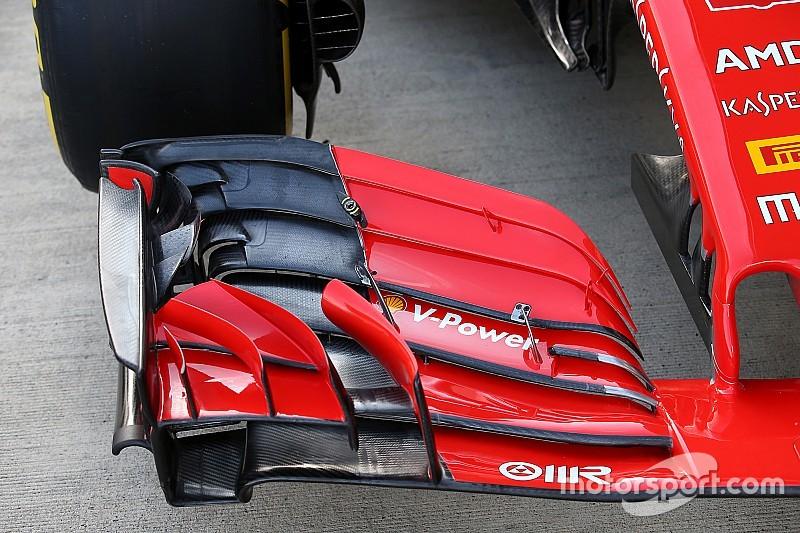 Ferrari: la nuova ala anteriore della Rossa genera dei vortici più energizzati