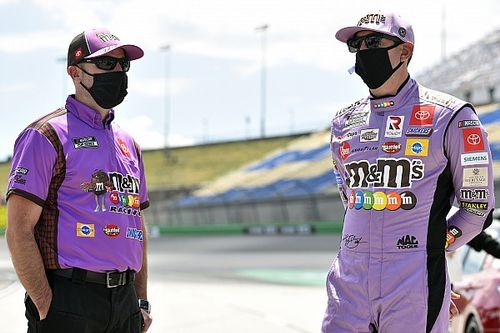 Kyle Busch gets new crew chief as part of JGR lineup changes