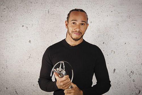 Lewis Hamilton újra Laureus-díjat kapott