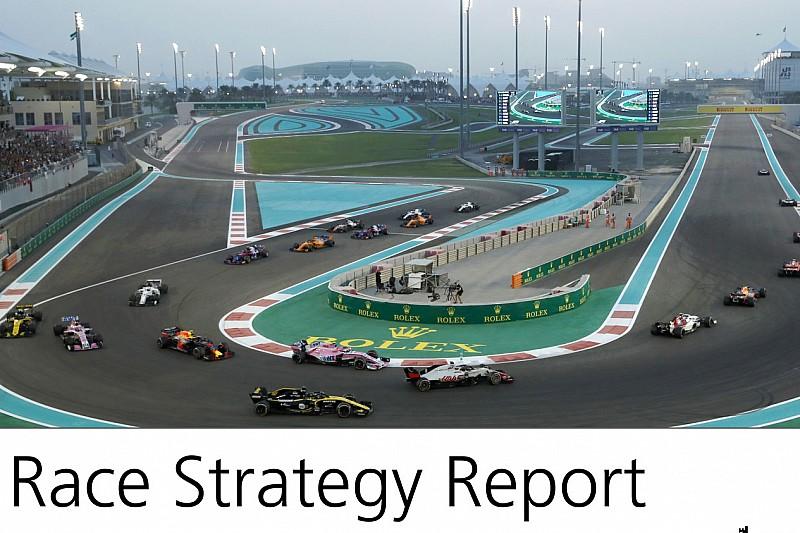 Report Strategie: la stessa scelta ha portato a risultati molto differenti ad Abu Dhabi