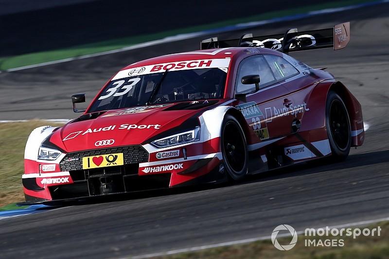 Hockenheim DTM: Rast Paffett'i geçerek şampiyonluk şansını sürdürdü