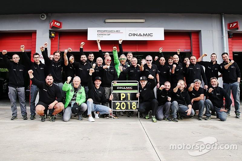 Carrera Cup Italia, Imola: Dinamic Motorsport team campione 2018!