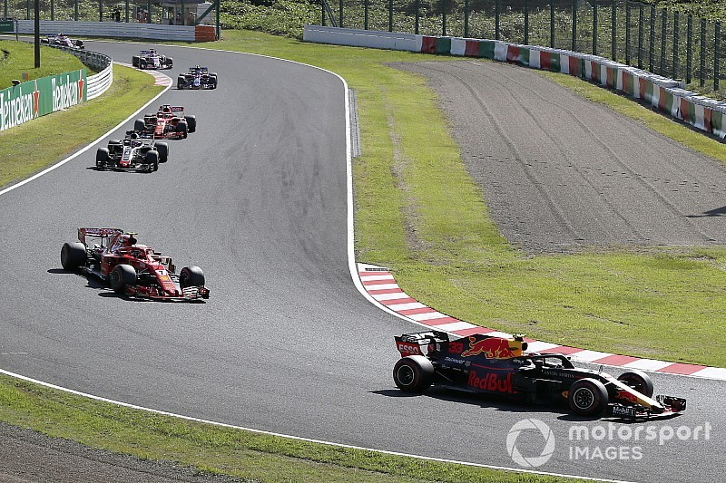 GP Japan 2018: Das Rennergebnis in Bildern
