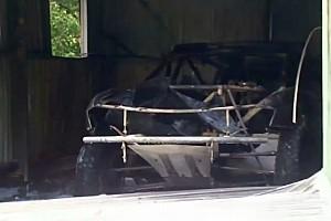 Dakar Breaking news Peter Brock's Dakar car destroyed in fire