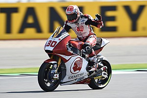 Moto2 予選レポート 【Moto2イギリス】予選:パッシーニPP。中上4番手で決勝に期待