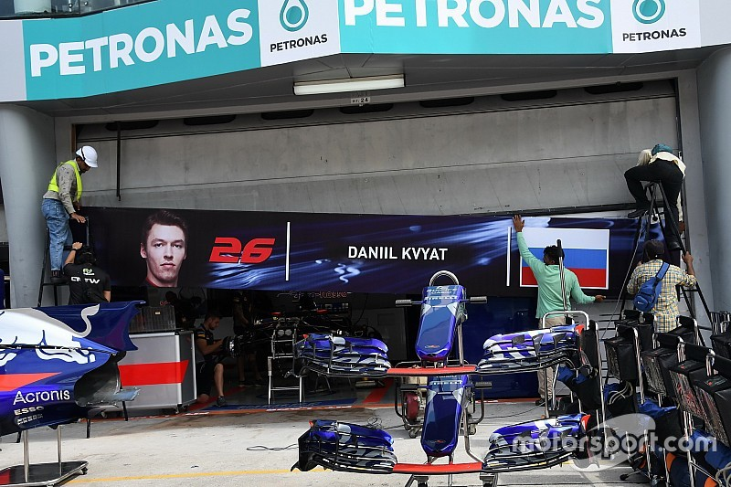 Toro Rosso, Kvyat'a güveniyor