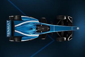 Formule E Actualités Photos - Renault e.dams présente la livrée de la Z.E.17