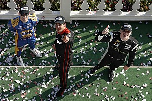 IndyCar Race report Pocono IndyCar: Power scores stunning win from a lap down