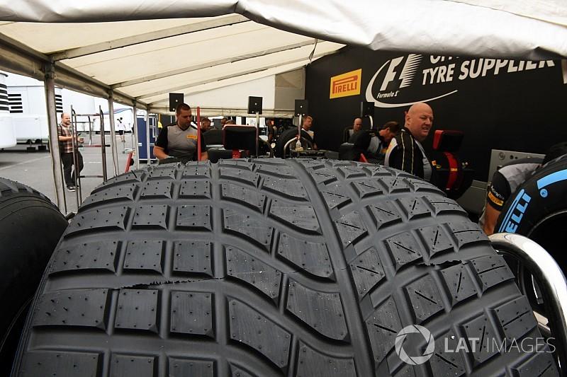 Pirelli wil halverwege seizoen 2018 naar nieuwe natweerband overstappen