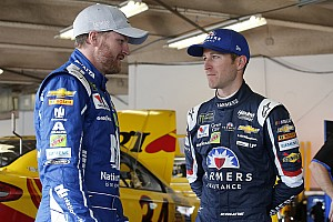 NASCAR Cup Practice report Kahne and Earnhardt lead final practice at Talladega