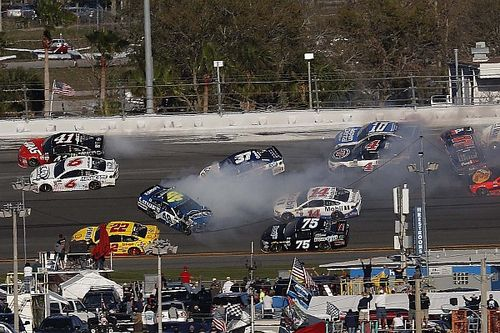 Kurt Busch's new spotter wasn't sure what to expect entering Daytona