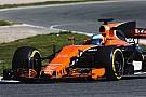 Formula 1 McLaren MCL32 piste çıktı!