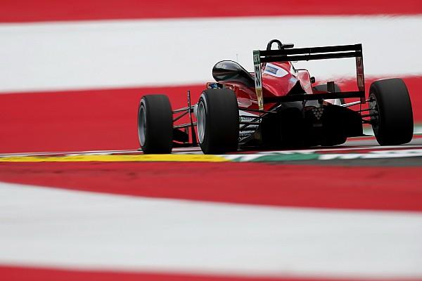Илотт сдержал атаки Эрикссона в первой гонке Ф3 в Австрии