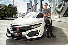 Auto Vandoorne présente la Honda Civic Type R