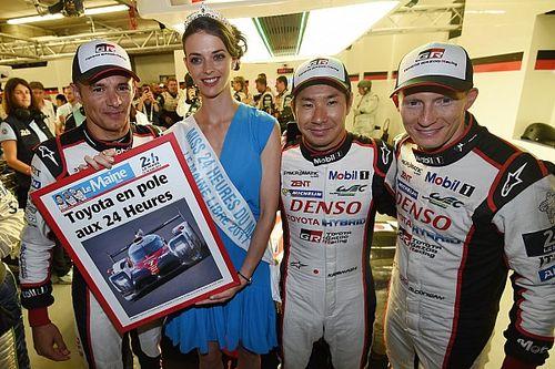 勒芒24小时排位赛:丰田锁定第一排,小林可梦伟创下历史最快单圈