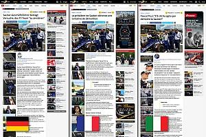 Motorsport.com відкрив нове тримовне швейцарське видання