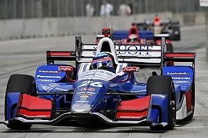 IndyCar Relato de classificação Sato mantém brilho e é pole em Detroit; Castroneves é 4º