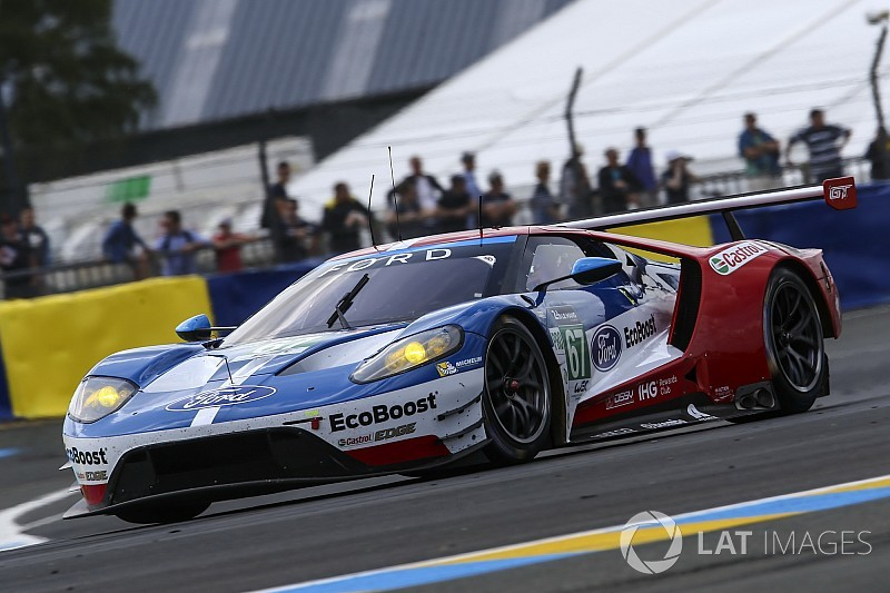 "Bird suspicious of Ford's ""unusual"" Le Mans test pace"