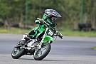 UASBK Наймолодший мотогонщик світу змагався у першій справжній гонці