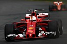 Australian GP: Vettel fastest in FP3 as Stroll shunts
