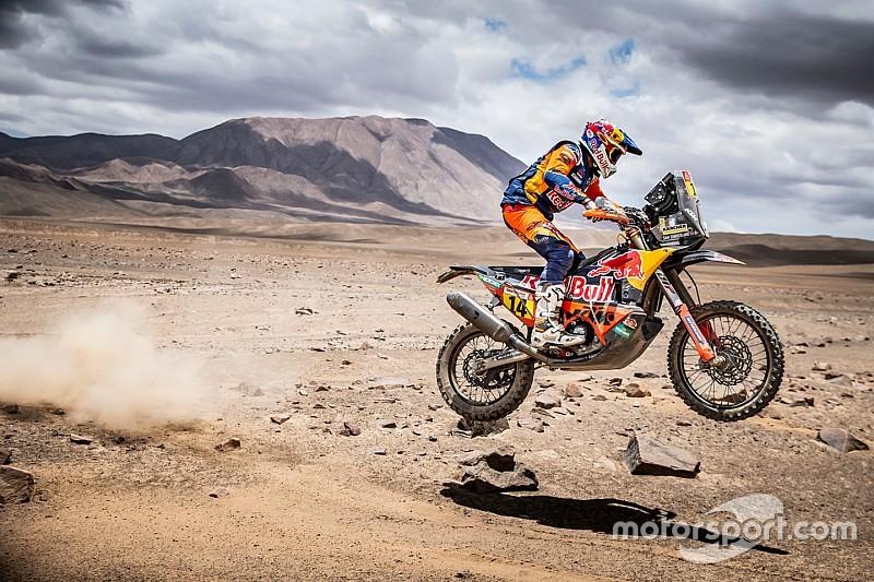 Dakar Stage 5: Sunderland jadi pemenang