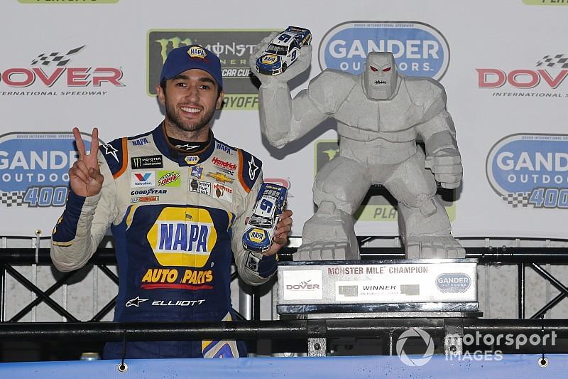 NASCAR Cup Series: Elliott bukukan kemenangan oval perdana di Dover