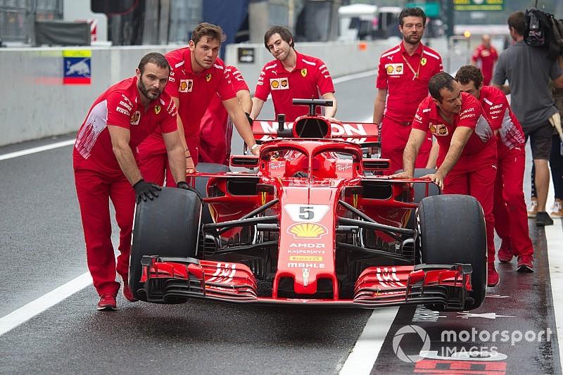 Галерея: нова ліврея Ferrari на Гран Прі Японії