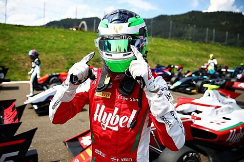 Red Bull Ring F3: Vesti wins truncated feature race