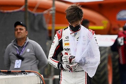 Injured Pourchaire unsure on recovery for Silverstone F2 round