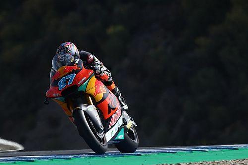 Moto2, Jerez: Gardner pole record su Di Giannantonio e Bezzecchi