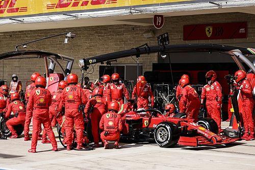 Ferrari Catatkan Pit Stop Tercepat F1 GP Amerika Serikat