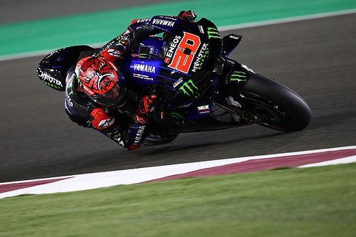 Quartararo lidera el segundo día de test de MotoGP en Qatar