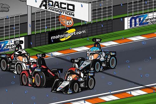 Vídeo: la locura del ePrix de Valencia, según MinEDrivers