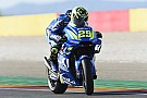 Aragon MotoGP: Iannone dominates warm-up, Marquez crashes